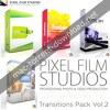 Pixel film studios transitions pack vol 2 for fcpx icon