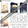 Pixel film studios light leaks pack vol 1 for fcpx icon