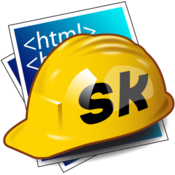 Skedit html php asp css coldfusion editor icon