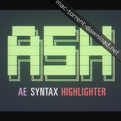 Ash syntax highlighter for ae icon