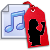 Music tag automatic mp3 tagger and tag editor icon