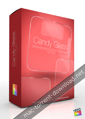 Pixel film studios candy glass professional theme for fcpx icon
