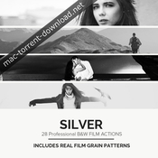 28 real black and white film emulations luts icon