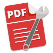 Pdf plus merge split crop and watermark pdfs icon