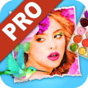 Watercolor studio icon