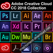 Adobe creative cloud collection 2018 icon
