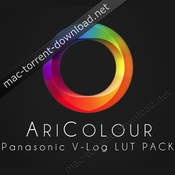 Aricolour panasonic v log luts pack icon