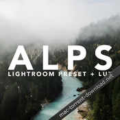 Alps lightroom preset icon