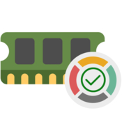 Memory cleaner freeup space icon