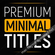 Premiumvfx minimal titles icon