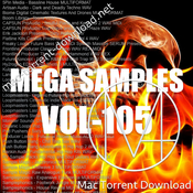 Mega samples vol 105 icon