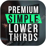 Premiumvfx simple lower thirds icon