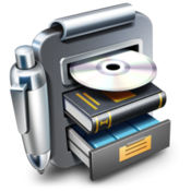 Librarian pro complete personal inventory system icon