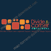Divide n corner ae icon