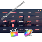 Corporate titles final cut pro x icon