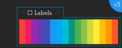 Labels 3 for after effects icon