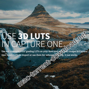 Lutify me professional 3d luts package for capture one icon