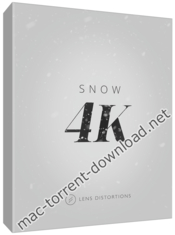 Lens distortions snow 4k icon