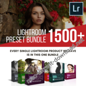 1500 lightroom presets bonus brand new bundle icon