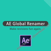 Ae global renamer icon
