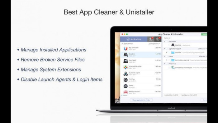 App Cleaner and Uninstaller Pro 671 Screenshot 01