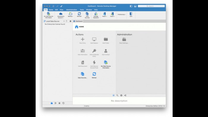 Remote Desktop Manager Enterprise 2019170 Screenshot 01 ikzeg1n
