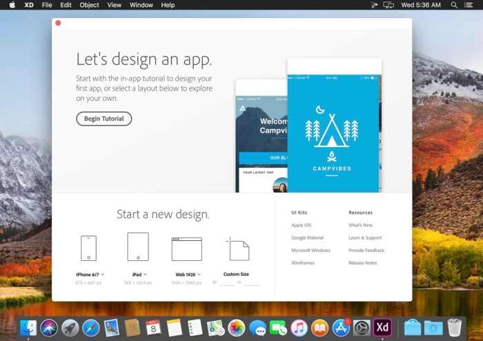 Adobe XD v22212 Screenshot 01 qh64ipn