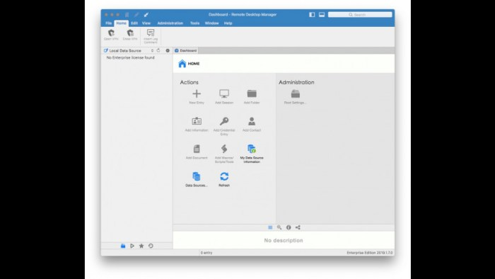Remote Desktop Manager Enterprise 2019170 Screenshot 02 llxeqin