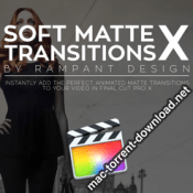 Rampant Design Tools Soft Matte Transitions X icon
