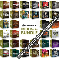 Toontrack MiDi PACK BUNDLES icon