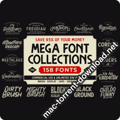 CM The MEGA FONT COLLECTIONS 2020 4539258 icon
