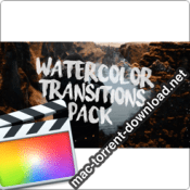 Ryan Nangle Watercolor Transitions for Final Cut Pro icon