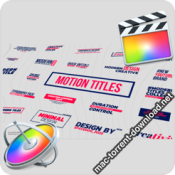 Motion Titles Lower Thirds FCPX 26133775 icon