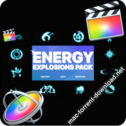 Energy Explosion Elements FCPX icon