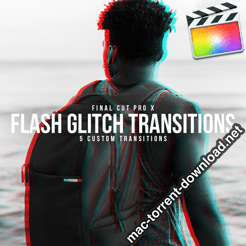 Glitch Flash Transitions Pack for Final Cut icon