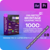 Montage Graphic Pack – 1000+ Titles, Transitions, Lower Thirds and more V8.2