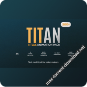 Titan 200 Animated Titles Pack 28036062 icon