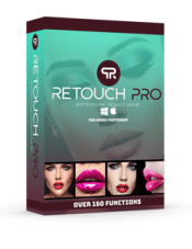 Retouch Pro Retouch Panel for Adobe Photoshop box icon