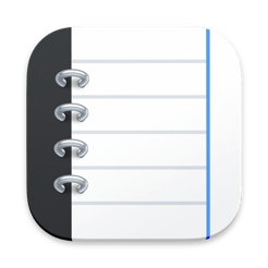 Notebooks Write and Organize icon