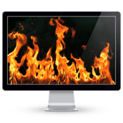 Fireplace Live HD Screensaver 4 icon