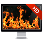Fireplace Live HD Screensaver 402 icon
