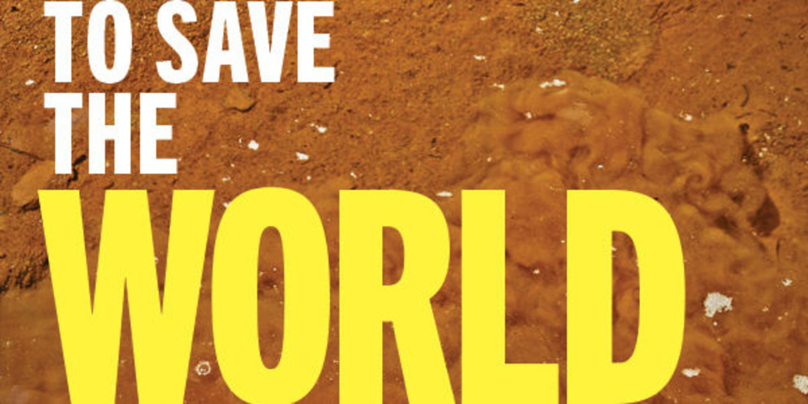 6 Simple Ways To Save The World