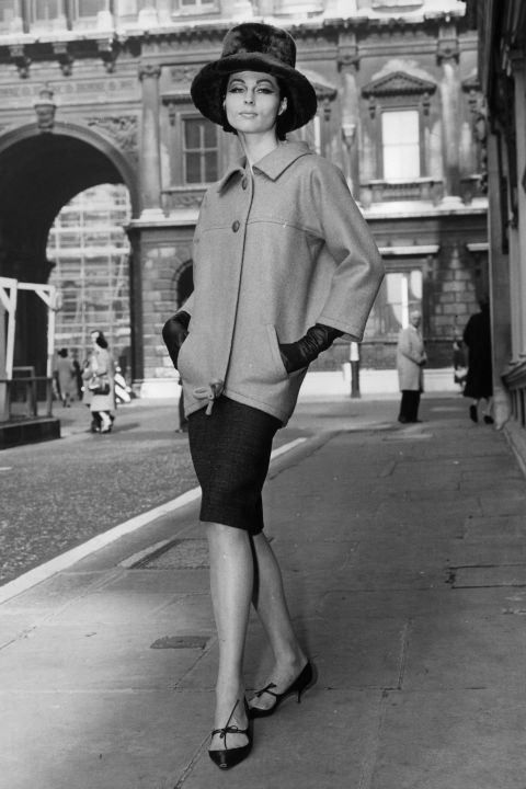 Shoe heights in the 1960s took a notable turn towards mod little kitten styles and low block heels.