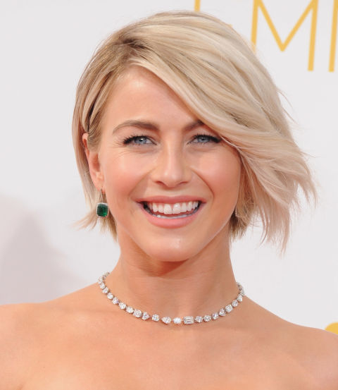 A slightly wavy bob with a liiiiittle bit of layering to lighten up the ends = the ideal way to ease into short hair for longer-locked gals.