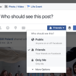 New Facebook Privacy Settings for 2017