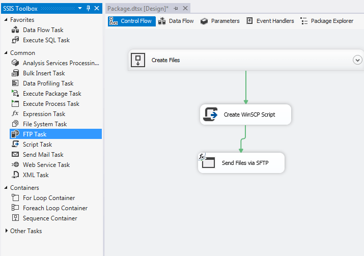 Uploading Files to SFTP Server using SSIS – Raymund Macaalay's Dev Blog