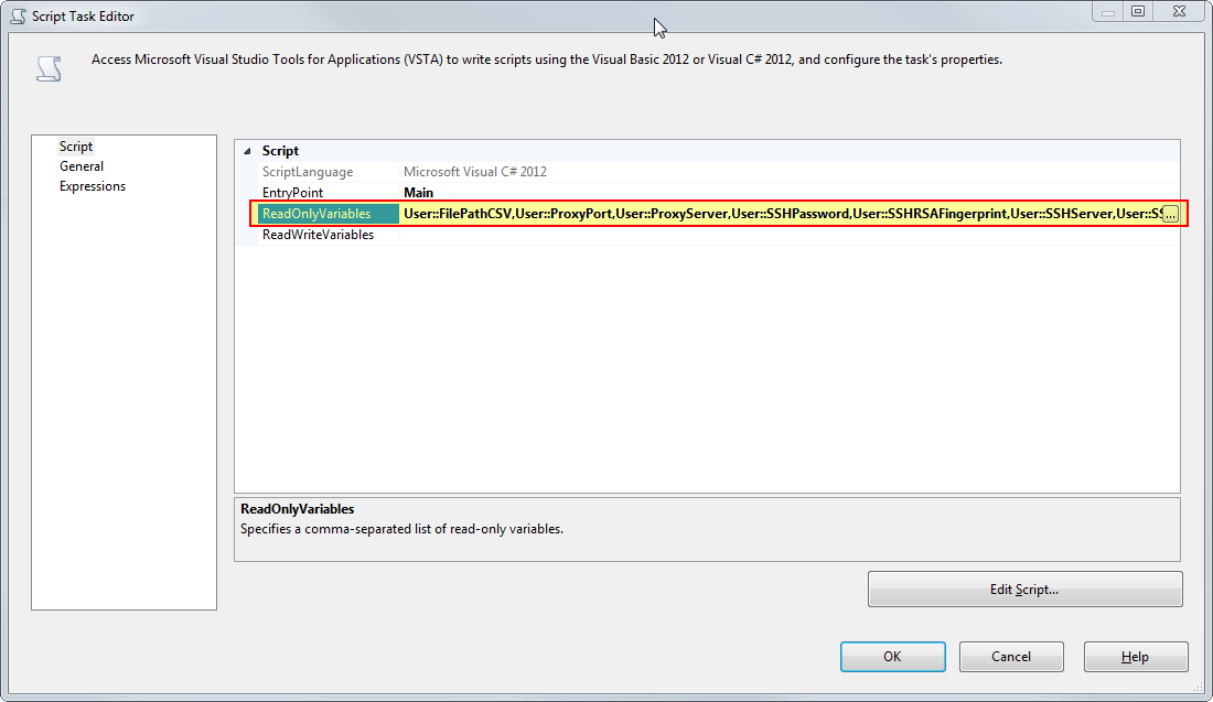 Uploading Files to SFTP Server using SSIS – Raymund