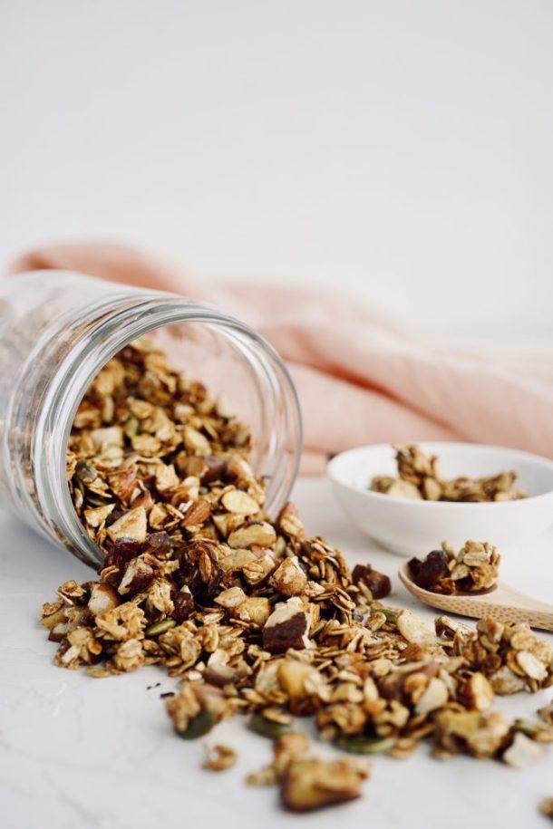 granola casera sin horno