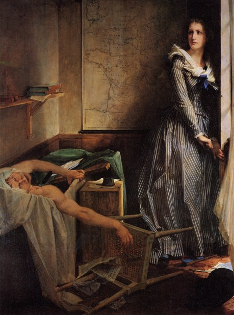 Charlotte Corday After the Murder of Marat (1860) by Paul-Jacques-Aimé Baudry