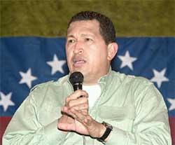 Chávez: mais duro que milicos, segundo a Folha